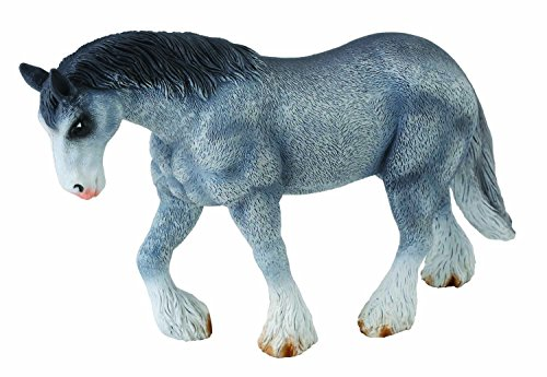 CollectA Clydesdale Mare, Grey