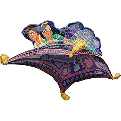 Mayflower Products Aladdin Birthday Party Supplies Princess Jasmine Balloon Bouquet Decorations: Toys & Games