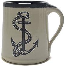 Great Bay Pottery Anchor Coffee Mug