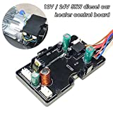 Car Diesel Air Heater Motherboard for 12V/24V 5KW 3KW 8KW LCD Control Board for Car,RV,Vans,Trucks (Black)