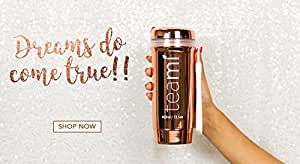 LIMITED EDITION Rose Gold Teami Tea Tumbler with Infuser   100% BPA FREE Bottle   Our Best Infusion Bottles for Infused Fruit Water, Smoothies, and Detox Teas   Double Walled Mug, Hot & Cold