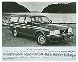 1987 Volvo 240 GL Automobile Photo Poster