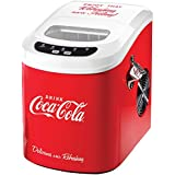 Coke Coca-Cola Logo Ice Cube Maker w/ Viewing Window Scoop & Bottle Opener