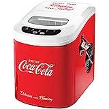 Coke Coca-Cola Logo Ice Cube Maker w/ Viewing Window Scoop & Bottle Opener