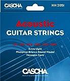 CASCHA Acoustic Guitar Strings HH 2051