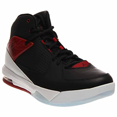 Nike Jordan Mens Jordan Air Incline Black/Gym Red/White Basketball Shoes