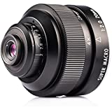 Zhongyi Mitakon 20mm F2.0 4-4.5X Super Macro Lens for Pentax DSRL Camera Mount Silent Frame Large Aperture Lens with Tarion Case