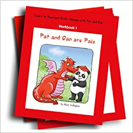 Learn to Read and Write Chinese with Pat and Dan: Workbook 1: Pat and Dan are Pals