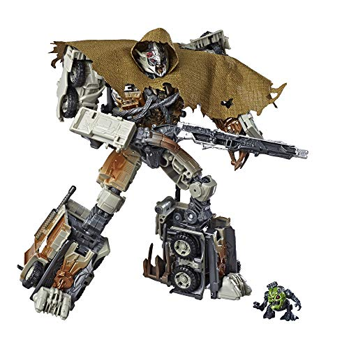 Transformers Toys Studio Series 34 Leader Class Dark of the Moon Movie Megatron with Igor Action Figure - Kids Ages 8 and Up, 8.5-inch ()