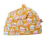Zutano Unisex baby Riviera Dream Hat, Orange, 24 Months