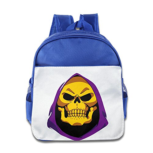 Price comparison product image XJBD Custom Personalized LOL Skeletor Teenager School Bag For 1-6 Years Old RoyalBlue