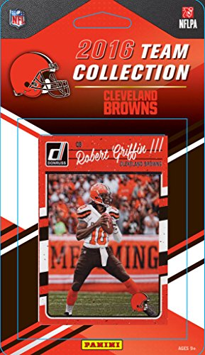 Cleveland Browns 2016 Donruss Factory Sealed Team Set with Ozzie Newsome, Josh McCown, Joe Haden, 6 Rookie Cards and others