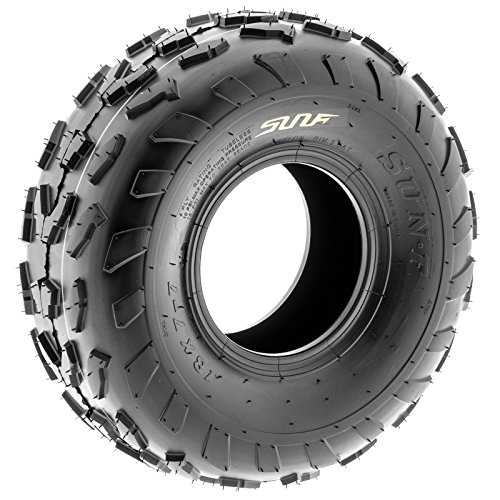 SunF 18x7-7 18x7x7 ATV UTV A/T Quad Race Replacement 4 PR Tubeless Tires A007, [Set of 2] by SunF (Image #9)