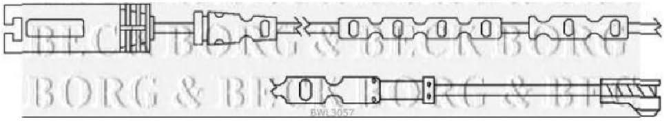 Borg /& Beck BWL3057 Brake Pad Wear Indicator Sensor