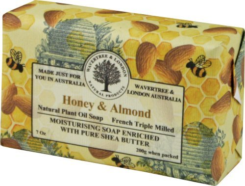 Wavertree & London Honey and Almond luxury soap 7oz