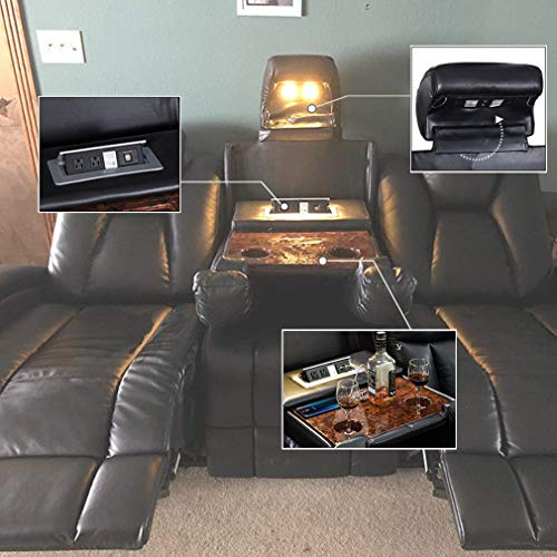 Peachy Reclining Sofa Home Theater Seating Power Sofa Theater Ocoug Best Dining Table And Chair Ideas Images Ocougorg