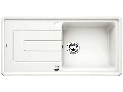 Blanco Tolon XL 6 S cristallo bianco ceramica lavello incasso cucina ...