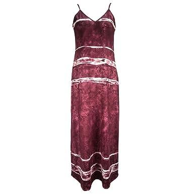 AIFGR Falda de señora Damas Vestido Casual de Noche con Cuello en ...