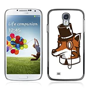 YOYOSHOP [High Class Fox Funny Illustration] Samsung Galaxy S4 Case