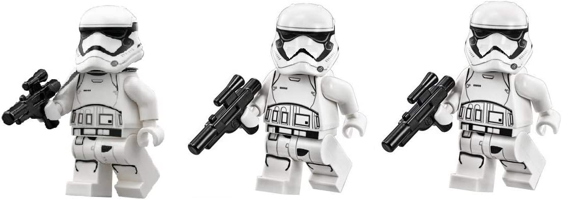LEGO Star Wars First Order Stormtroopers and Squad Leader