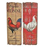 TIC Collection 22-484 Coop Wall Art (Set of 2)