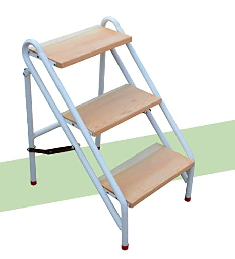 Tremendous Amazon Com Qqxx Folding Ladder Stool Household Ladder Lamtechconsult Wood Chair Design Ideas Lamtechconsultcom