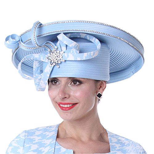 d6292905f2a Kueeni Women Hats Church Hats For Ladies Ribbons Big Hat - Buy Online in  UAE.