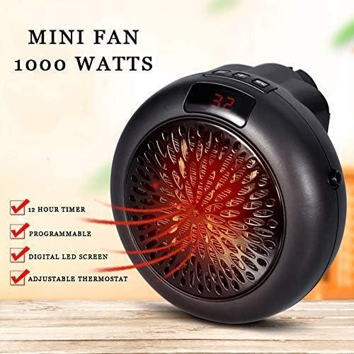 NiLeFo Mini Ventilador de Calefacción Ventilador de calefacción ...