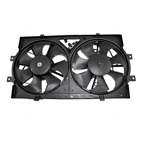 Radiator AC A/C Condenser Cooling Fan Assembly Replacement for Dodge Chrysler Eagle (Chrysler Lhs Radiator Cooling Fan)