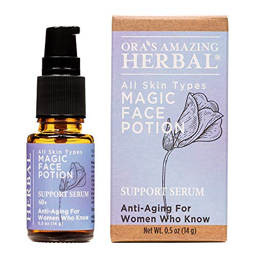 Magic Face Potion, Anti Aging Face Oil, Sea Buckthorn Lavender Cypress, Licorice Root Skin Oil, Antioxidant, Natural…
