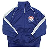 Texas Rangers MLB Big Boys Tricot Track Jacket, Blue
