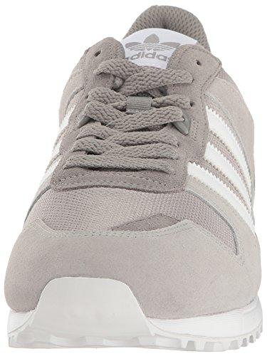 ZX Grey Medium Heather Lifestyle Runner adidas Sneaker Solid Originals White 700 Men's Grey w88Eg4