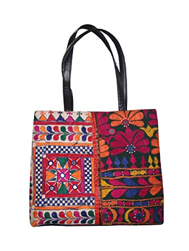 Silkroude vintage stile etnico borsa a tracolla borsetta patch di lavoro designer indiano borse a mano