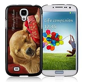 Best Buy Design Samsung S4 TPU Protective Skin Cover Christmas Dog Black Samsung Galaxy S4 i9500 Case 37
