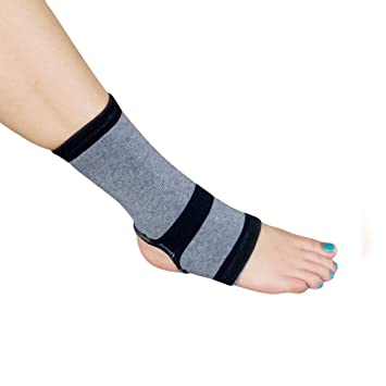 c94b17c856 Amazon.com: Evelots 1 Bamboo Ankle Wrap Support/Compression ...