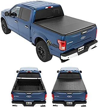 Amazon Com Bestop 1811001 Ziprail Soft Tonneau Cover For Ford 97 03 F150 04 04 F150 Heritage 97 00 F250 Light Duty 6 5 Bed Automotive