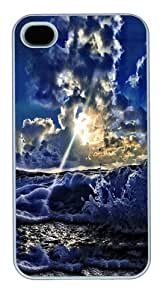 A brighter future PC Case Cover for iPhone 4 and iPhone 4S White Thanksgiving Day gift