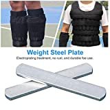 Steel Plates for Weighted Vest, Strength Training