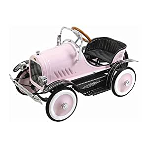 Kalee Kids Play Vehicles Deluxe Roadster Pedal Car Pink