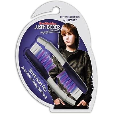 Brush Buddies Justin Bieber Singing Toothbrush Replacement Heads