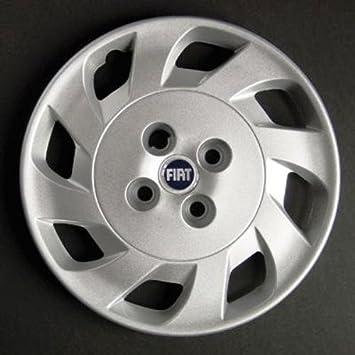 Desconocido Set de 4 embellecedores nuevos para Fiat Punto 2 1999> con Llantas Originales de