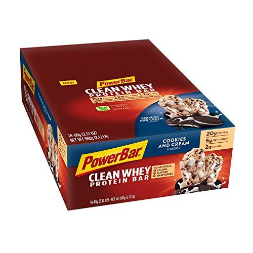 PowerBar Clean Whey Gluten Free Protein Bars