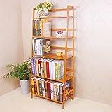 Yi Hai Ladder BookShelf Bamboo Book Rack(5-Tier) Review