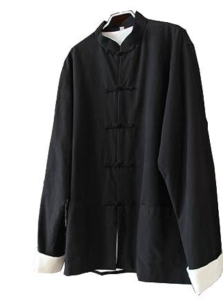 6179ba38b7 Amazon.com  ZooBoo Mens Martial Arts Kung Fu Jacket Tang Suit  Clothing