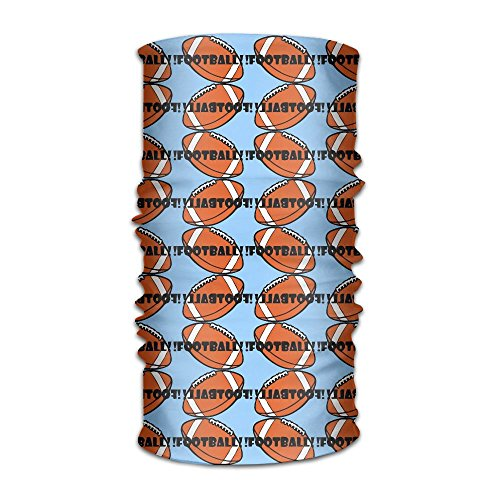 Men Women Rugby Football Daily Headscarf UV Protection Microfiber Sports Headwear Bandanas Sun Mask Multifunctional Headband Cycling Running Magic Scarf Outdoors