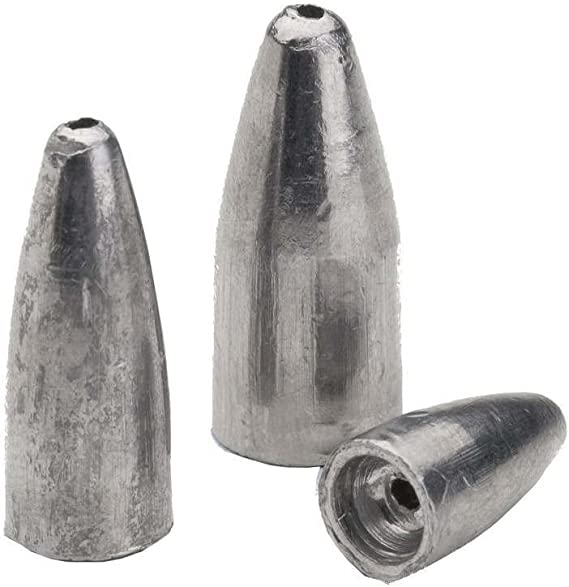 Quantity Color Select Size Bullet Weights Lead Worm Weights