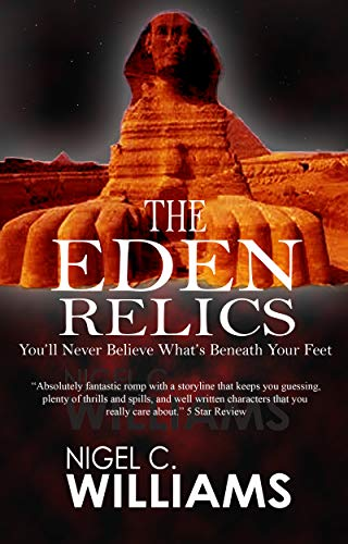 Book: Eden Relics (A Zac Woods novel #1) by N. Williams