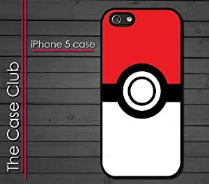 iPhone 5C (New Color Model) Rubber Silicone Case - Poke Ball Pokemon Pikachu Poke Power