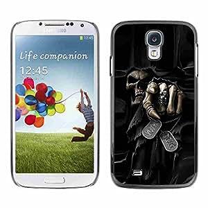 Shell-Star ( Death Grim Reaper Skull Evil ) Fundas Cover Cubre Hard Case Cover para Samsung Galaxy S4 IV (I9500 / I9505 / I9505G) / SGH-i337