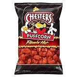 Chester's Puffcorn Flamin' Hot Pufffed Corn Snacks(2oz.)
